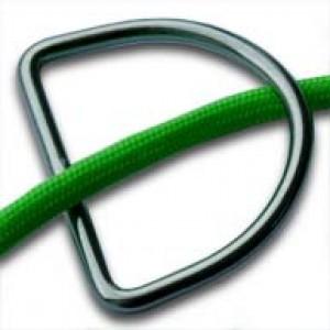Gelaste D-Ring RVS 25mm (4mm dik)