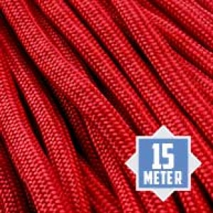 Imperial Red 550 type 3 paracord Ø 4mm (15m)