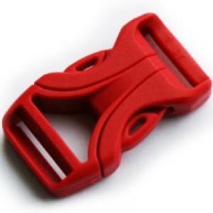 Luxe Buckle Rood - YKK kwaliteit | 16mm (5/8)