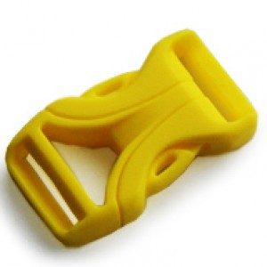 Luxe Buckle Geel - YKK kwaliteit | 16mm (5/8)