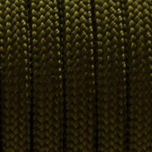 Military green Mil Spec 550 type 3 paracord Ø 4mm (15m)