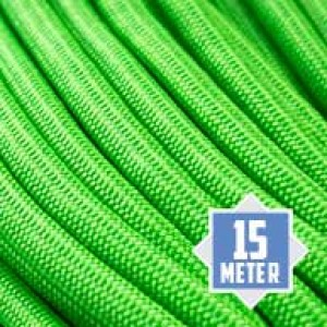 Neon Green 550 type 3 paracord Ø 4mm (15m)