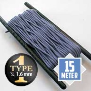 Purple Lavender type I paracord Ø 2mm (15m)